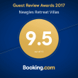 Booking.com 2017 guest review award
